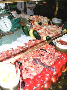 Seafood Buffet at Deer Valley
