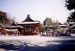 Tsurugaoka Hachimangu.