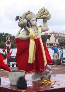 Hanuman, a figure in Hindu mythology