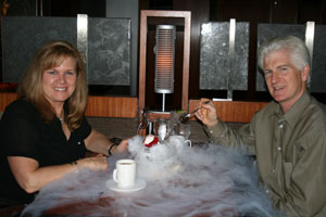 Dining in style at the space Needle's SkyCity