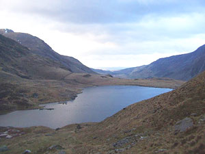 Llyn Idwal Lake in the Devil's Kitchen – an area steeped in myth and mystery (photo by Abbey Stirling)