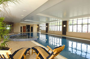 The swimming pool at the Quay Hotel and Spa, Deganwy, north Wales (photo courtesy of the Quay Hotel)