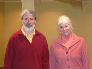 David and Sharon of the Quiet Mind Studio, Wellfleet.