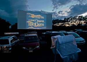 The Wellfleet Drive-In Theatre