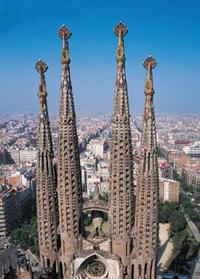 Gaudi's masterpiece in Barcelona.