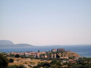 Arriving on Samos.
