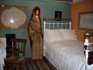 Bedroom on Samos.