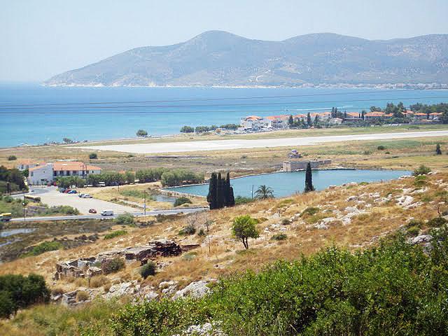 The mountains of Samos, Greece