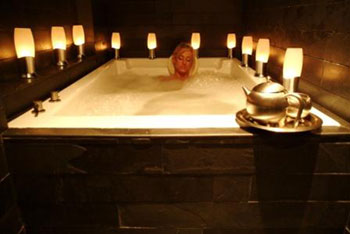 THE Bathhouse Spa at Mandalay Bay specializes in exotic baths.