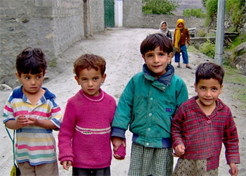 Hunza Valley kids