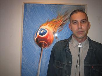 Artist Eric Nash.