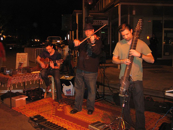 Thursday Night Market: The hot ticket in town is this market that features musicians, juried artists and myriad food vendors.