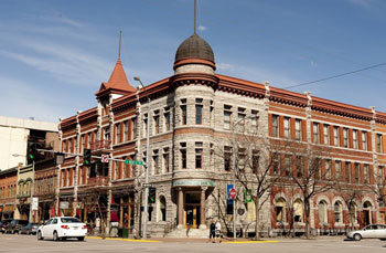 Downtown Missoula is full of well-preserved, historic buildings. Photo by Donnie Sexton.
