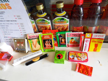 Jamu for fertility, sexual performance, menstrual problems... even a morning after pill!