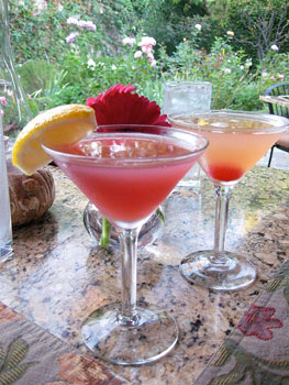 Cocktails at Suzanne's Cuisine