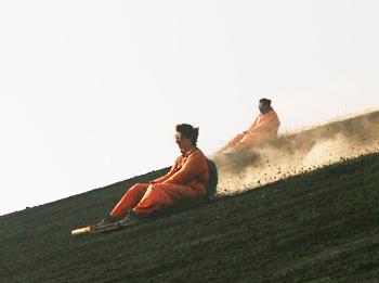 Volcano boarding at Cerro Negro in Nicaragua. Photos by Anna-Claire Bevan.