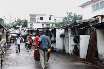 Fetish market in Lome, Togo. photo by Raquel Fletcher.