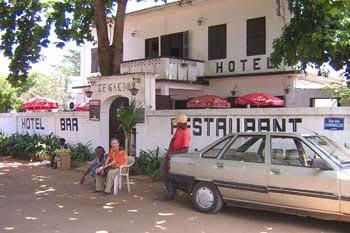 Hotel le Galion, in Lome, Togo.