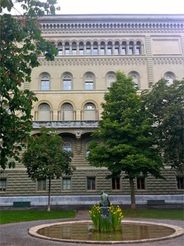 The Bern Parliament building.