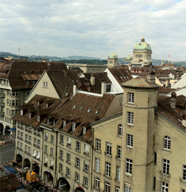 View from the clocktower, Bern.