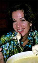 Cathie Arquilla, stylist and travel writer.