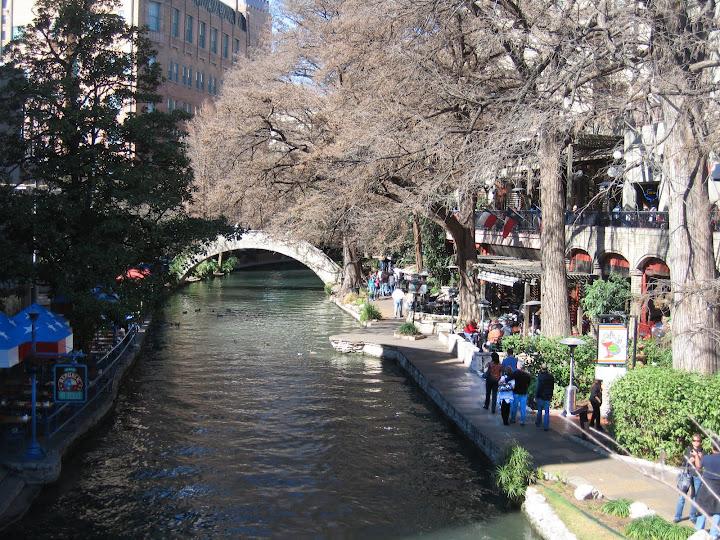San Antonio's Riverwalk on the Rio Grande. photo by Amy Hamblen.