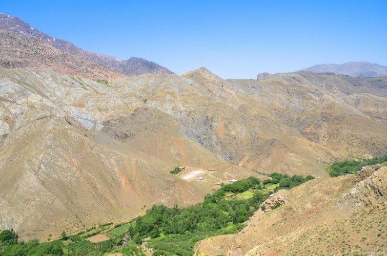 Atlas mountains of Morocco