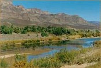 Draa river valley