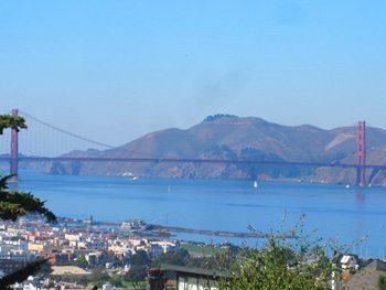 Golden Gate from Russian Hill