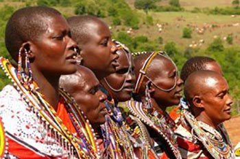 Maasai women in Kenya. Rene Bauer photo.
