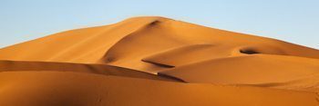 Track free dunes in the Sahara. Kathryn Weir photo.