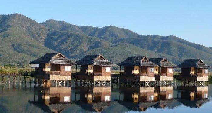 The Golden Island Cottages in Myanmar