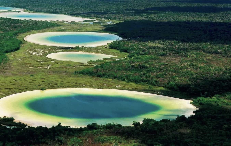 Sian Ka'an Biosphere Reserve in Mexico