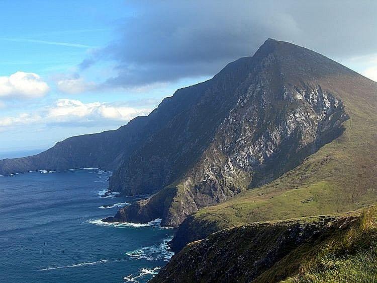 Croaghaun Cliff, Achill Islands, Ireland.