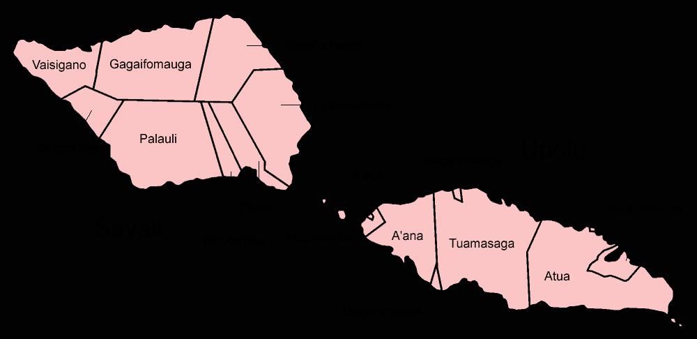 Upolu and Savai'i, Samoa