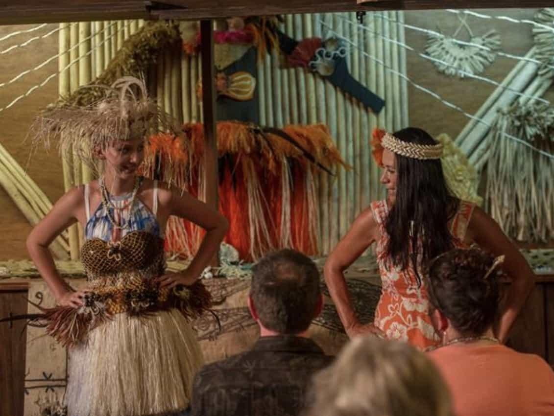 Cultural Village Dance on Rarotonga, Cook Islands