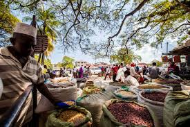 The Darajani market of Stone Town