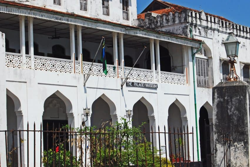 The Palace Museum, also known as Sultan's Palace (Beit el-Sahel in Arab), is one of the main historical buildings of Stone Town; it was built in late 19th century to serve as a residence for the Sultan's family.