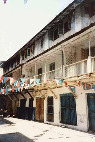 Camlur's Indian Restaurant, houseind in the building where Freddie Mercury was born.