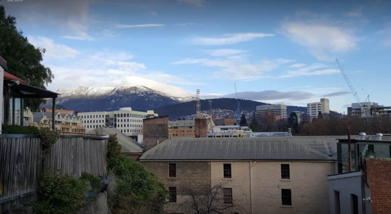 View of Mount Wellington in Hobart, Tasmania. Anthony Stedman photo.