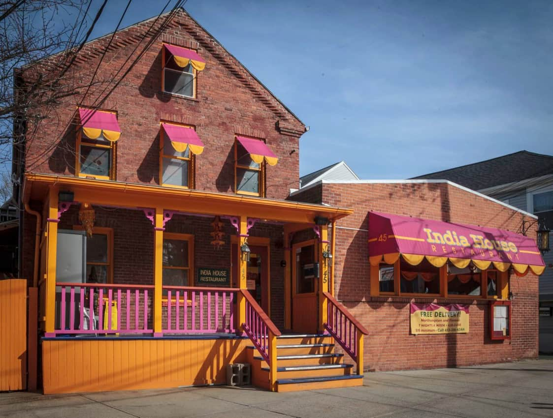 India House offers tasty Indian cuisine on State St. Northampton. Paul Shoul photo.
