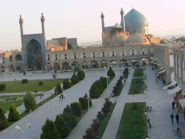 Isfahan, Iran's huge mosque.