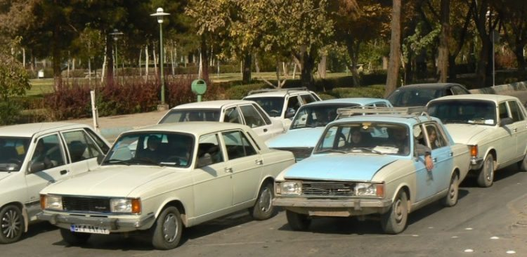 Iran's car fleet is very old, it's difficult to get new parts because of sanctions.
