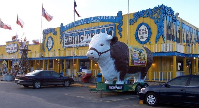 The famous Big Texan Steak Ranch.