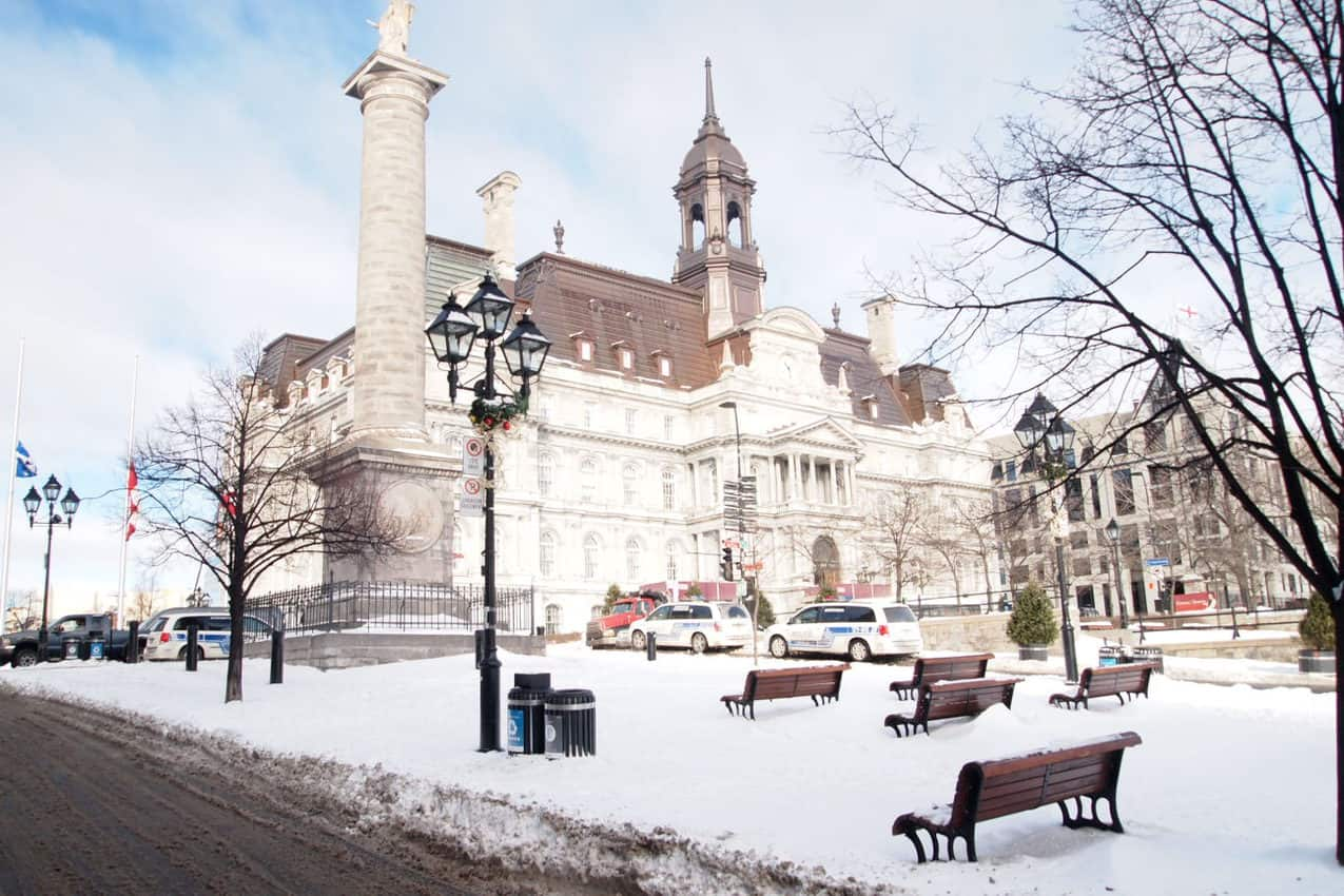 Montreal old city