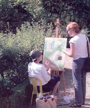art lessons in Giverny