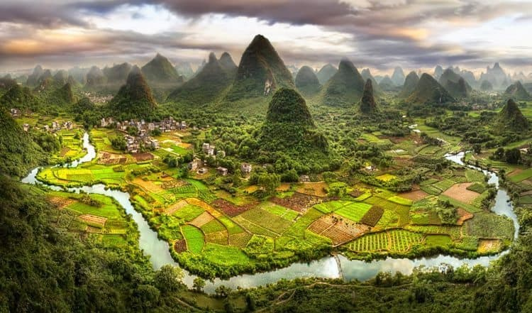 Yangshou's hiking areas. Daniel Metz photo.