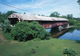 The Haverhill bridge of Bath, New Hampshire.