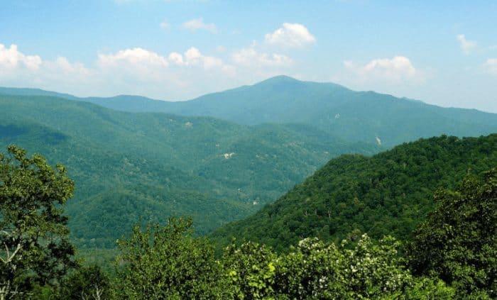 Cold Mountain, North Carolina, where the movie was filmed.