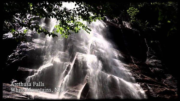Arethusa Falls.
